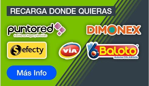 Codere Colombia Métodos de Pago
